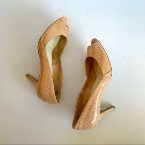 Fioni Peep-Toe Heels